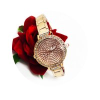 WSM189 - Rose Gold studded watch