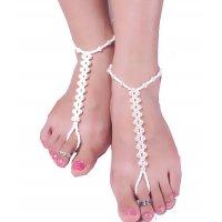 AK002 - Simple Pearl Anklet