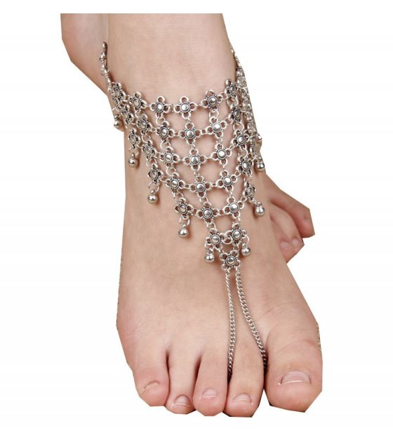 AK006 - Simple Silver Anklet