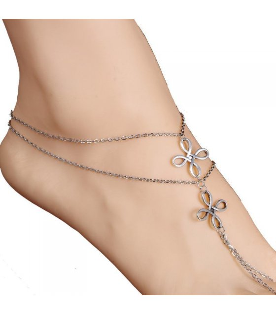 AK011 - Simple Silver Anklet