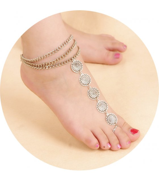 AK018 - Coin Anklet