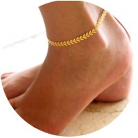 AK046 - Gold Chain Anklet