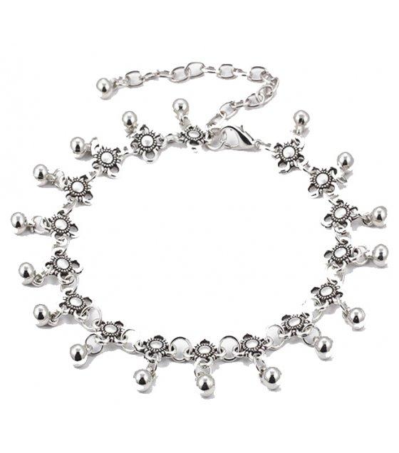 AK049 - Bohemian alloy chain anklet