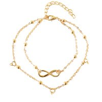 AK061 - Double chain anklet