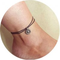 AK075 - Simple Rope Anklet