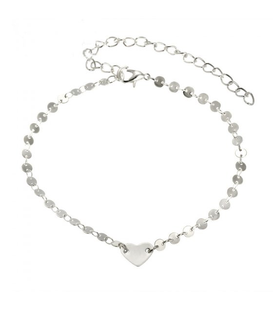 AK080 - Love coins simple anklet