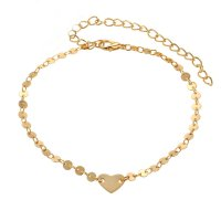 AK081 - Love coins anklet