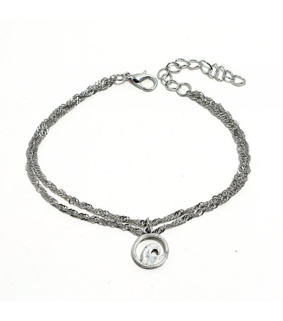 AK102 - Fashion Double Anklet