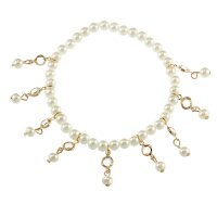 AK103 - Summer new fashion pearl anklet