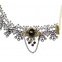 AK110 - Gothic Lace Anklet