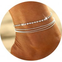 AK111 - Drill chain Anklet