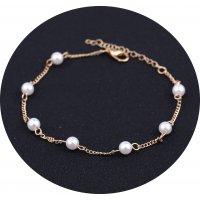 AK127 - Fashion simple pearl anklet