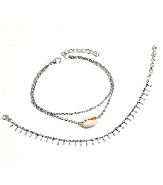 AK138 - Shell multi-layer anklet