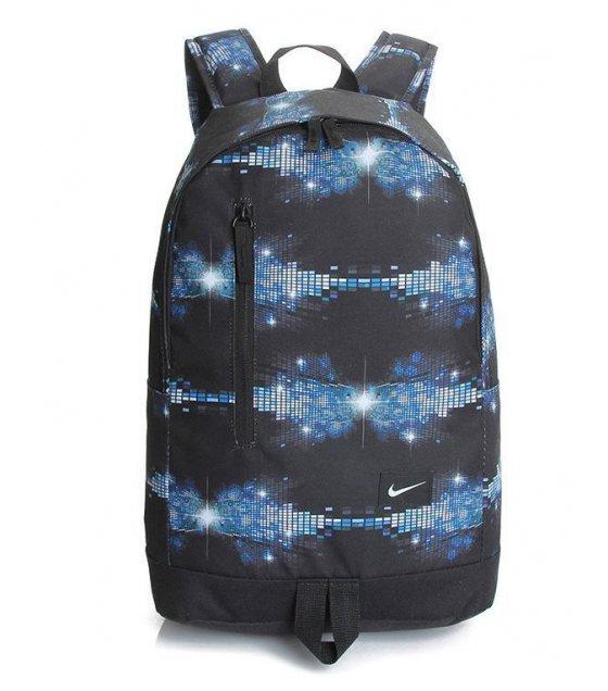 BP039 - Printed Night Blue Backpack