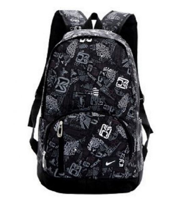 BP081 - Black Printed Nike Class backpack
