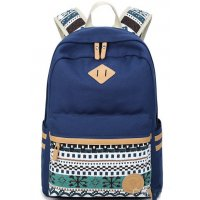BP158 - Stylish Blue Backpack Bag