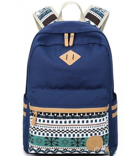 BP158 - Stylish Blue Backpack Bag