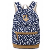 BP161 - Blue Feather Backpack