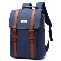 BP167 - Stylish Blue Backpack Bag
