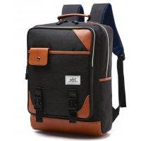 BP168 - Black Backpack Bag
