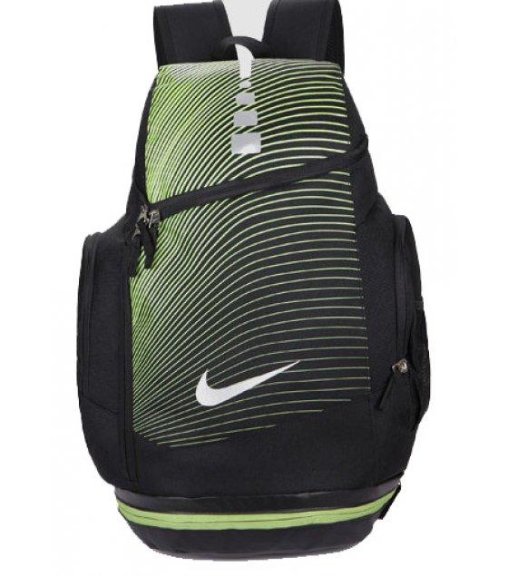 BP175 - Green Striped Backpack Bag