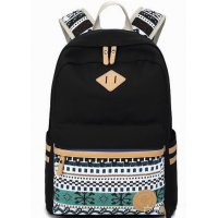 BP199 - Black Casual Backpack Bag