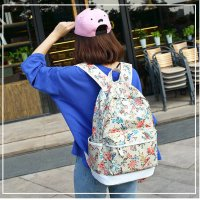 BP240 - Bird Print Backpack