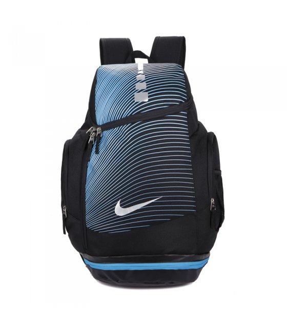 BP248 - Blue Striped Backpack Bag