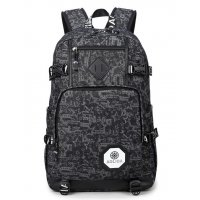 BP252 - Camouflage canvas student bag