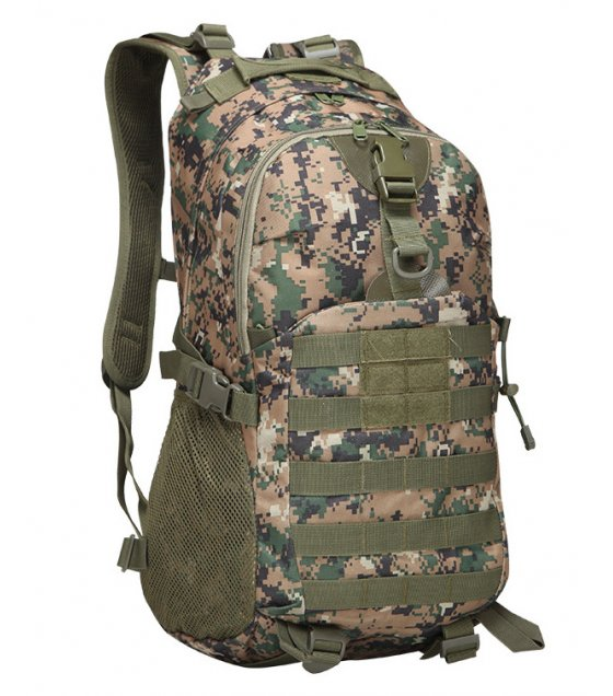 BP295 - Military tactical camouflage shoulders trekking bag