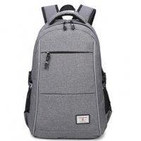 BP307 - Oxford cloth waterproof USB charging backpack