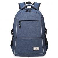 BP308 - Oxford cloth waterproof USB charging backpack