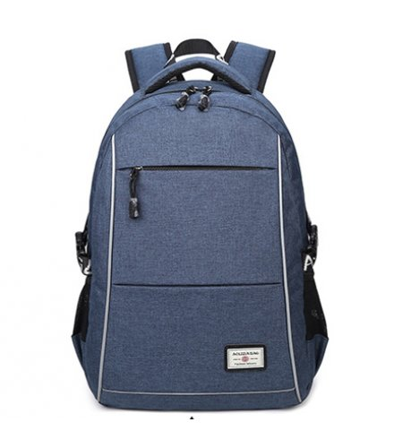 BP308 - Oxford cloth waterproof USB charging backpack