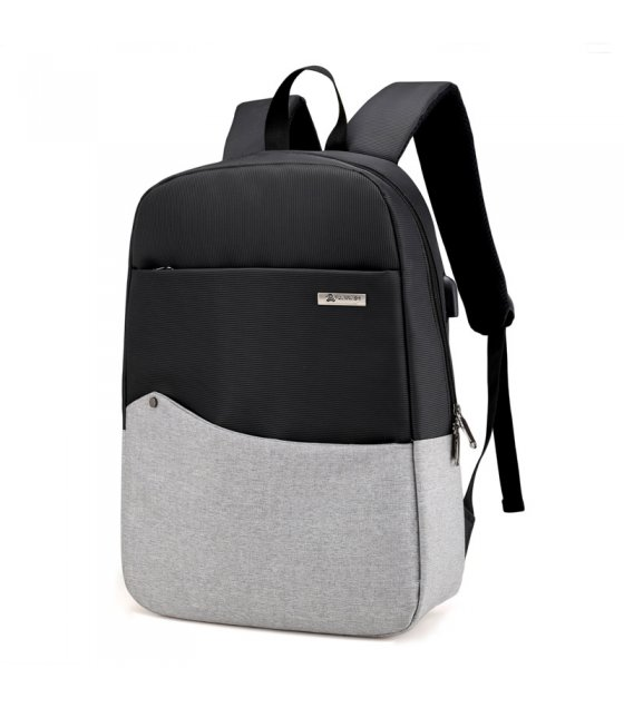 BP341 - Light Grey Travel Backpack