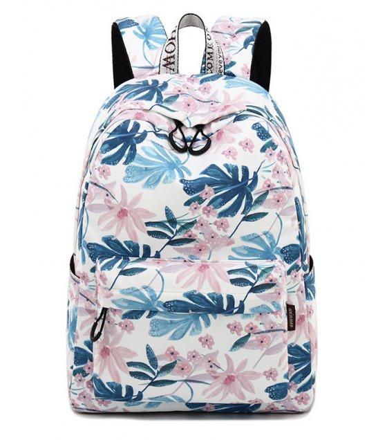 BP364 - Korean Women's Printed Backpack