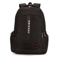 BP365 - Black Casual Backpack