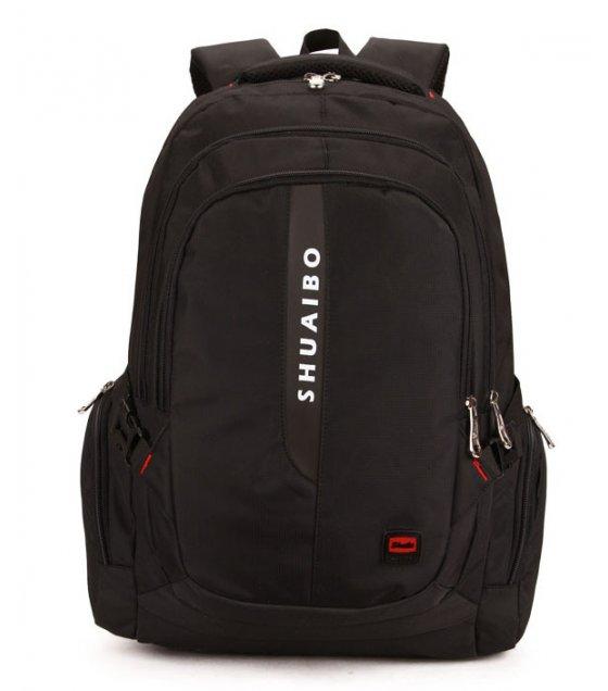 BP365 - Black Casual Backpack