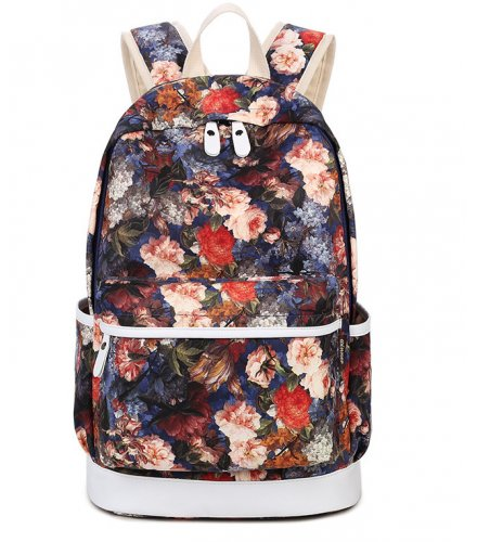BP372 - Red Floral Backpack