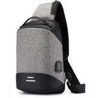 BP396 - Korean casual Cross Backpack
