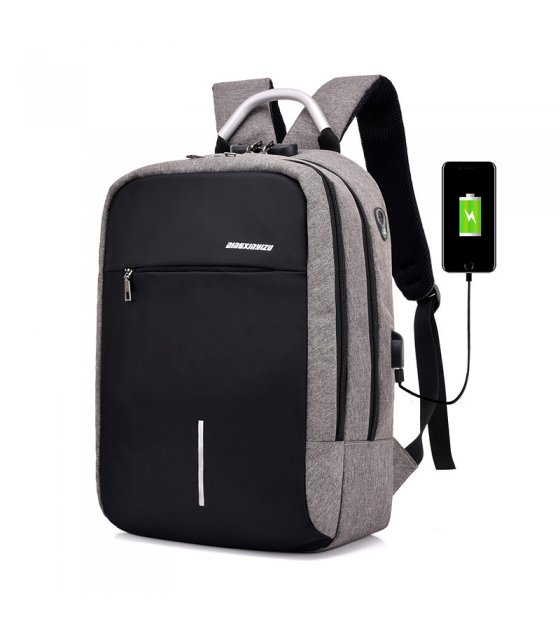 BP407 - Casual Canvas Backpack