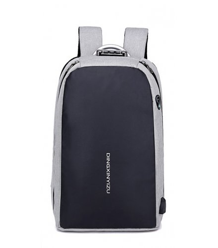 BP410 - Anti-theft USB charging backpack