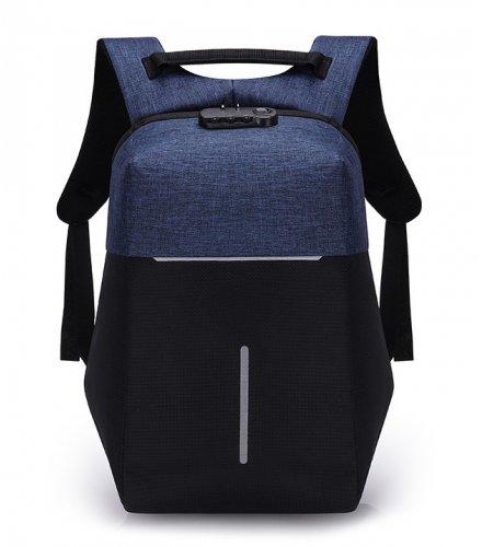 BP412 - Reflective USB Backpack Backpack