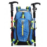 BP423 - 40L Waterproof Nylon Travel Hiking Backpack