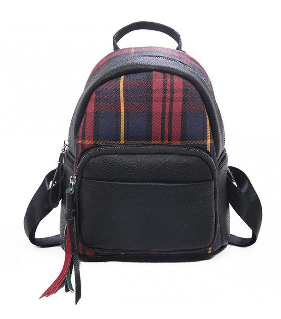 BP432 - Tassel zipper women's backpack
