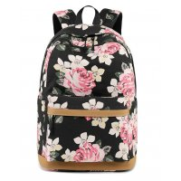 BP435 - Floral Canvas Backpack