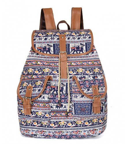 BP466 - Casual canvas outdoor backpack