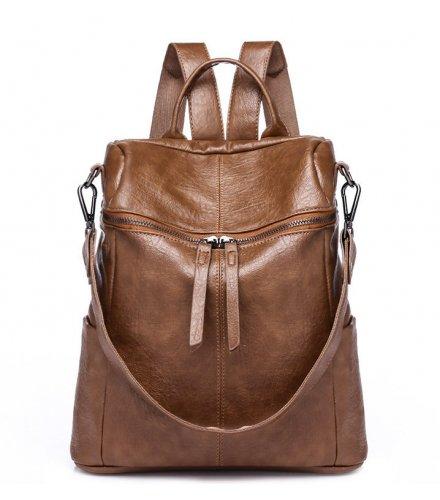 BP469 - Retro Brown Backpack