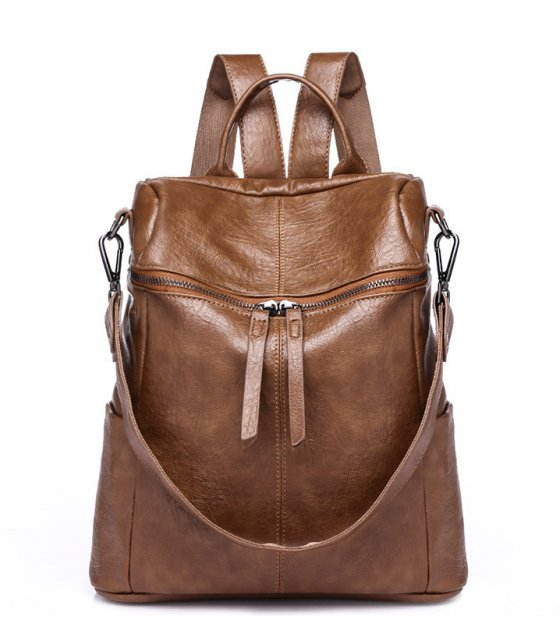 BP469 - Retro Brown Backpack