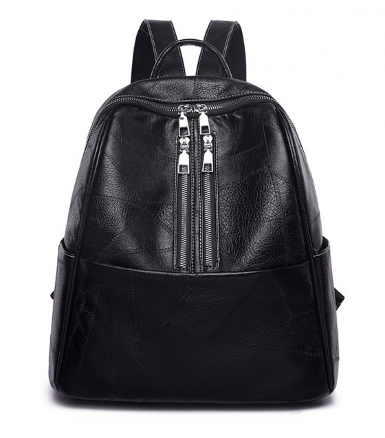BP470 - PU leather backpack