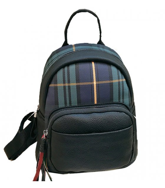 BP474 - Tassel zipper women's backpack